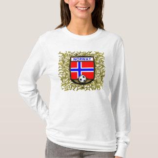 ノルウェーのサッカーのスエットシャツ Tシャツ