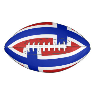 ノルウェーのスカンジナビア人の旗 アメリカンフットボール