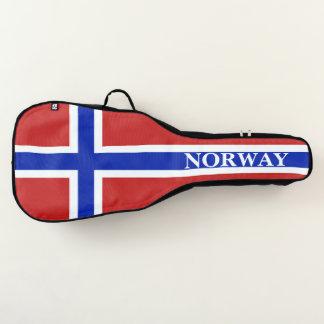 ノルウェーのスカンジナビア人の旗 ギターケース