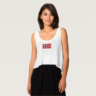 ノルウェーのタンクトップのレディース旗 タンクトップ