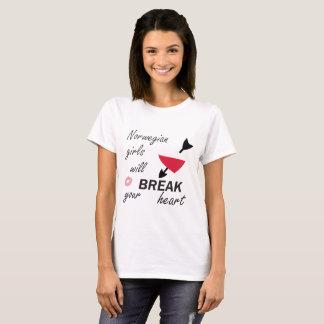ノルウェーのハートブレーカー Tシャツ