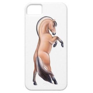 ノルウェーのフィヨルドの馬のiPhone 5の箱の養育 iPhone SE/5/5s ケース