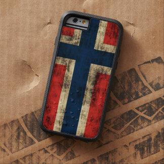 ノルウェーのヴィンテージのグランジな旗 TOUGH XTREME iPhone 6 ケース