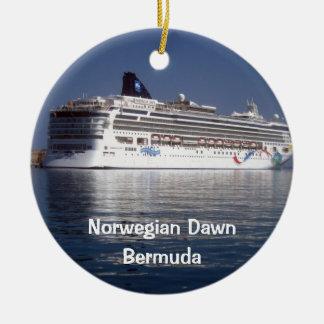 ノルウェーの夜明け、ノルウェーの夜明け、バミューダ島 セラミックオーナメント