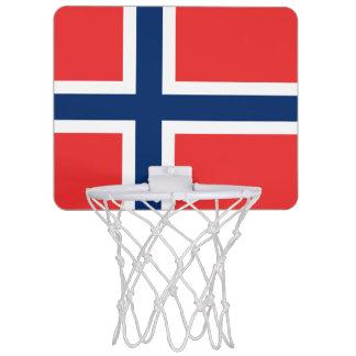 ノルウェーの小型バスケットボールのゴールの旗 ミニバスケットボールネット