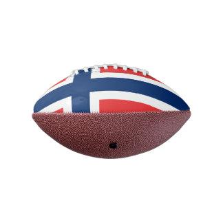 ノルウェーの小型フットボール の旗 アメリカンフットボール