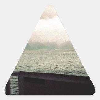 ノルウェーの巡航 三角形シール