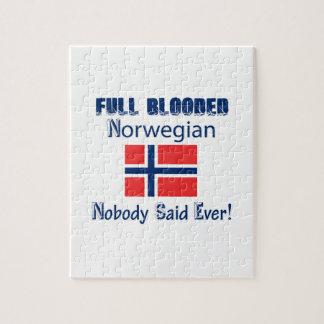 ノルウェーの市民のデザイン ジグソーパズル