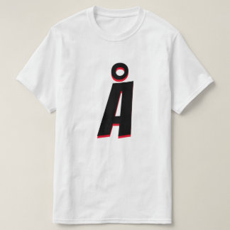 ノルウェーの手紙Å Tシャツ