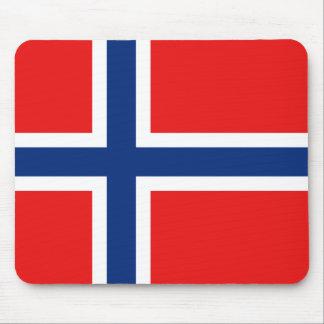 ノルウェーの旗のマウスパッド マウスパッド