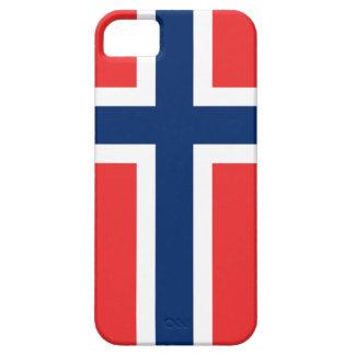 ノルウェーの旗のiPhoneの場合|ノルウェーのデザイン iPhone SE/5/5s ケース