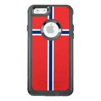ノルウェーの旗 オッターボックスiPhone 6/6Sケース
