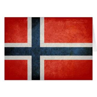 ノルウェーの旗 カード