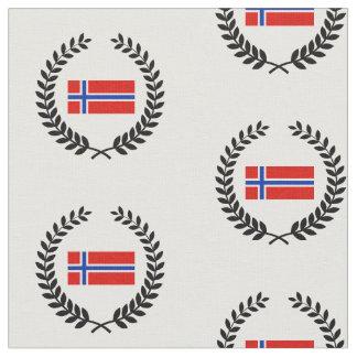 ノルウェーの旗 ファブリック