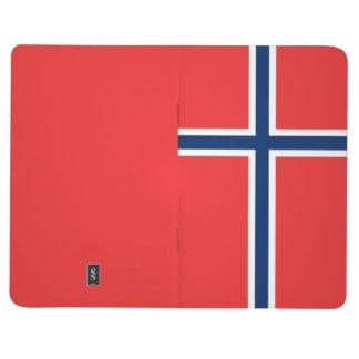 ノルウェーの旗 ポケットジャーナル