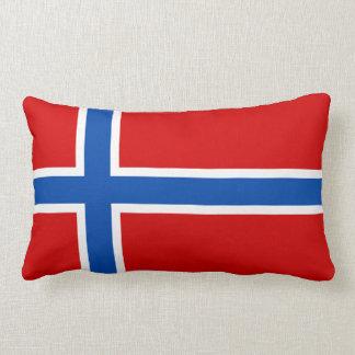 ノルウェーの旗 ランバークッション