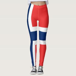 ノルウェーの旗 レギンス