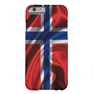 ノルウェーの旗 BARELY THERE iPhone 6 ケース