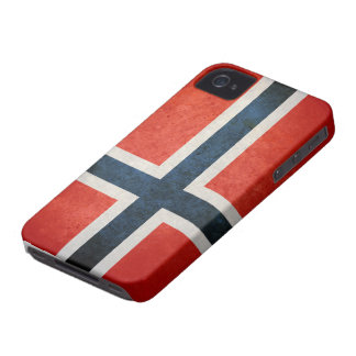 ノルウェーの旗 Case-Mate iPhone 4 ケース