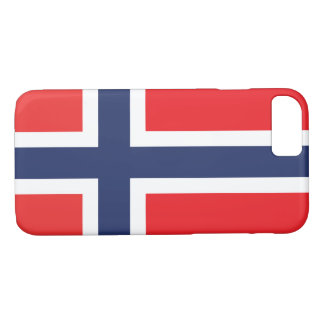 ノルウェーの旗 iPhone 8/7ケース