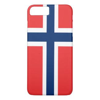 ノルウェーの旗 iPhone 8 PLUS/7 PLUSケース