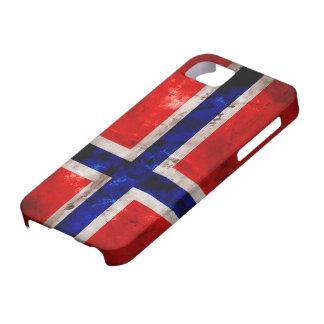 ノルウェーの旗 iPhone SE/5/5s ケース