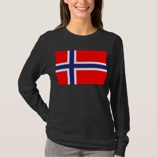 ノルウェーの旗 Tシャツ