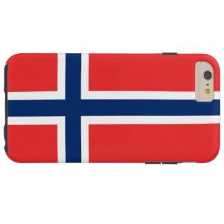 ノルウェーの旗 TOUGH iPhone 6 PLUS ケース