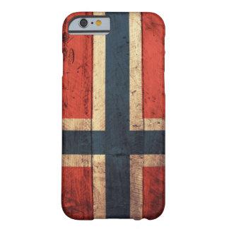 ノルウェーの木の旗 BARELY THERE iPhone 6 ケース