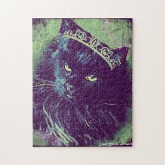 ノルウェーの森林猫の女王 ジグソーパズル