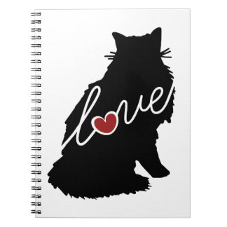 ノルウェーの森林猫愛 ノートブック