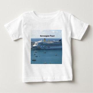 ノルウェーの真珠 ベビーTシャツ