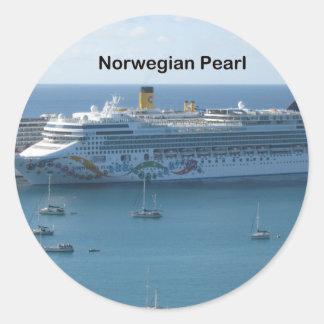 ノルウェーの真珠 ラウンドシール