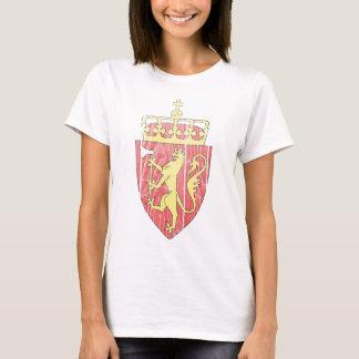 ノルウェーの紋章付き外衣 Tシャツ