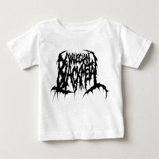 ノルウェーの黒い金属 ベビーTシャツ