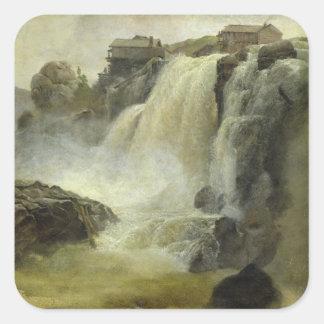 ノルウェーのHaugfoss、1827年 スクエアシール