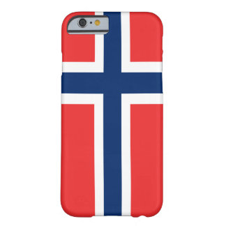 ノルウェーのiPhoneの旗6 ID™ Barely There iPhone 6 ケース