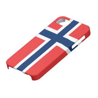 ノルウェーのiPhone 5の穹窖ID™の旗 iPhone SE/5/5s ケース