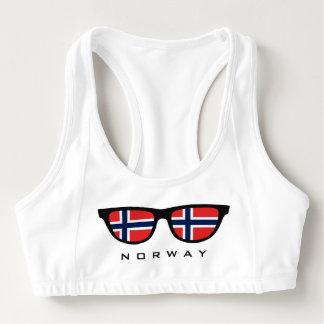 ノルウェーは習慣のスポーツのブラを影で覆います スポーツブラ