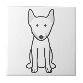 ノルウェー人のLundehund犬の漫画 タイル