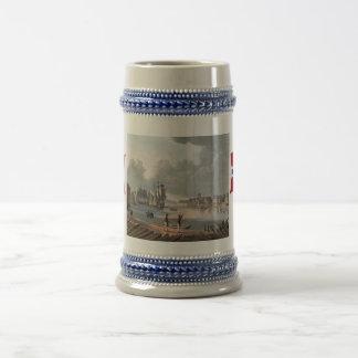ノルウェー、オスロ港、18世紀 ビールジョッキ