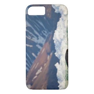 ノルウェー、スバールバルのスピッツベルゲン島の島、髭がある2 iPhone 8/7ケース