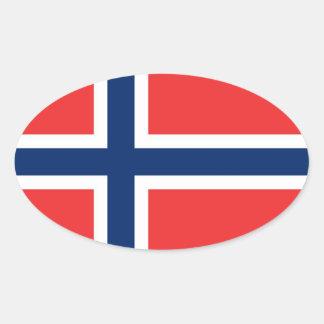 ノルウェー 楕円形シール