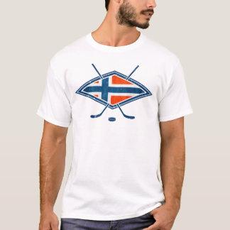 ノルウェーNorgeのアイスホッケーのロゴ Tシャツ