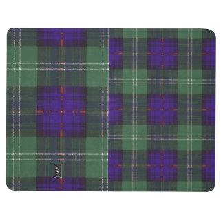 ノルマンの一族の格子縞のスコットランドのキルトのタータンチェック ポケットジャーナル