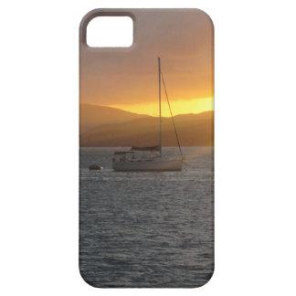 ノルマンの島BVIの日没 iPhone SE/5/5s ケース