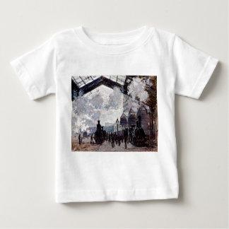 ノルマンディーの列車の乳児のTシャツの到着 ベビーTシャツ