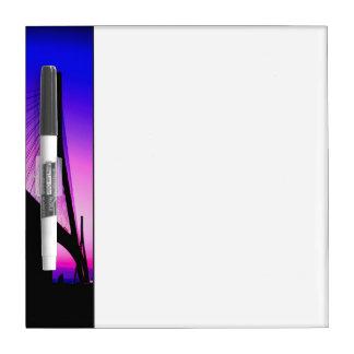 ノルマンディー橋、ルアーブル、フランス ホワイトボード
