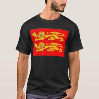 ノルマンディー(フランス)の旗 Tシャツ