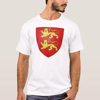 ノルマンディー(フランス)の紋章付き外衣 Tシャツ